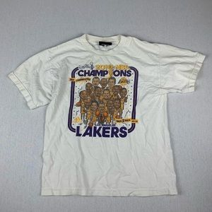 Vintage LA Lakers 2010 NBA Champions T Shirt